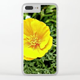 Whispering Spring Flowers Clear iPhone Case