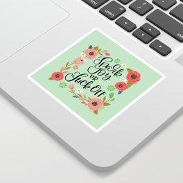 Pretty Swe*ry: Spark Joy or Fuck Off Sticker