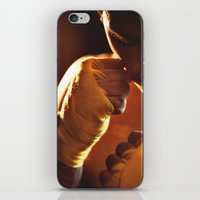 fight iPhone & iPod Skins featuring Fight. by Alexey & Julia