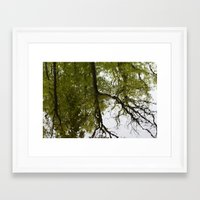 mirror Framed Art Prints featuring Mirror by dominiquelandau