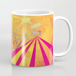 The Fair is in Town - Kitschy Abstract Watercolor Coffee Mug