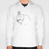 Hoodies featuring Studio Yip-Yip by adho1982