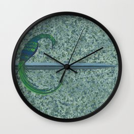 To the Hilt Wall Clock