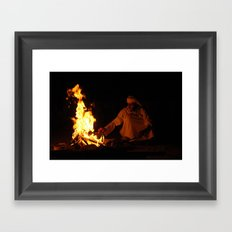 Arabian Fire Framed Art Print