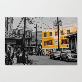 NOLA SPLIT 9 Canvas Print