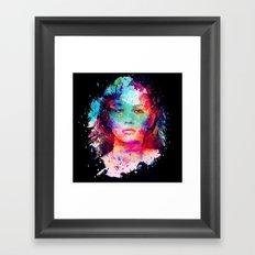 Gold Tears Framed Art Print
