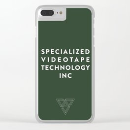 SVT - (Specialized Videotape Technology Inc) Clear iPhone Case