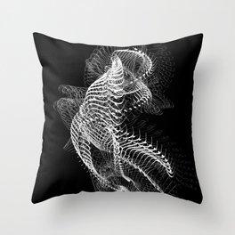 ossitext1 Throw Pillow