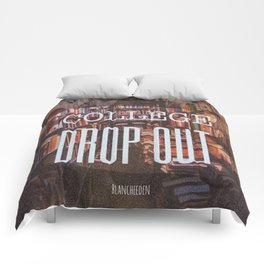 College Drop Out Comforters
