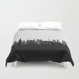 City Skylines: Karachi Duvet Cover