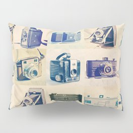 Vintage Camera Collection Pillow Sham