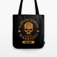 Bad Boy Club: Klingon Empire Warriors Tote Bag