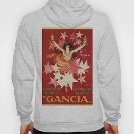Vintage 1921 Italian Gancia Vermouth Advertisement by Leonetto Cappiello Hoody