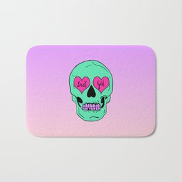 Bad Gal Skull Bath Mat