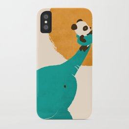 Panda's Little Helper iPhone Case