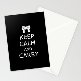 Keep Calm and Carry Stationery Cards