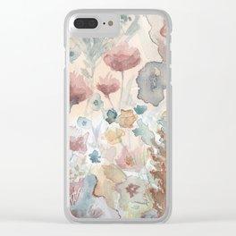jardin 2 Clear iPhone Case