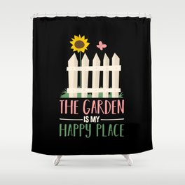 Gardening Garden Gift Shower Curtain