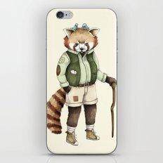 Red Panda Ranger iPhone & iPod Skin