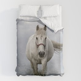 Hold Your Horses Duvet Cover