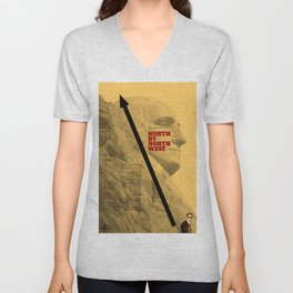 Hitchcock: North by Northwest Unisex V-Neck