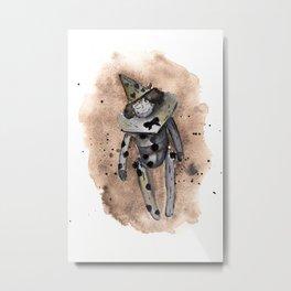 Christmas decor Arlecchino Metal Print