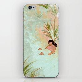 River Meeting iPhone Skin