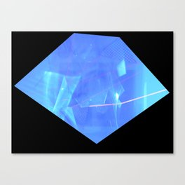 blue hue Canvas Print