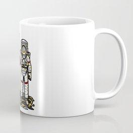 Bitcoin Astronaut To The Moon BTC Blockchain Gift Coffee Mug