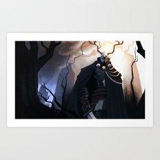 Forest Knights Art Print