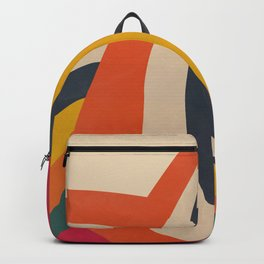 The Abstract Stripes Backpack