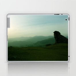 Sunset at Dinas Bran Laptop & iPad Skin
