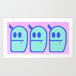 Mint Daddies. (3 Mr. Grubbo) Art Print