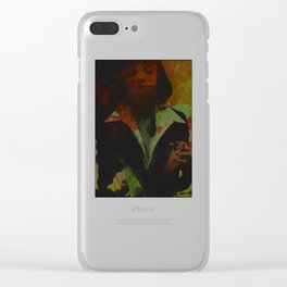 Mia Wallace Clear iPhone Case