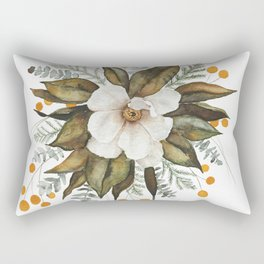 Magnolia Bouquet Rectangular Pillow