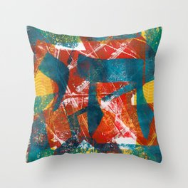 Abstract Chai Throw Pillow