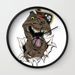 T-Rex - Imma Pirate Wall Clock