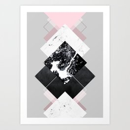 Geometric Textures 7 Art Print