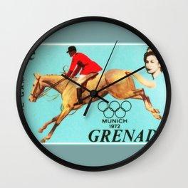 OLYMPIC GAMES MUNICH Wall Clock