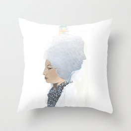 Lost Bride Throw Pillow