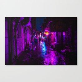 Shadowy Alley Canvas Print