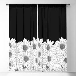 Daisy Boarder Blackout Curtain