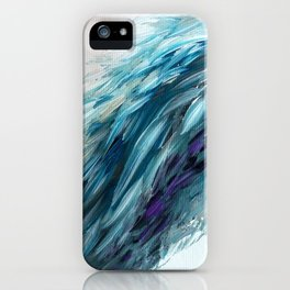 Once Upon An Angel Wing-blue iPhone Case