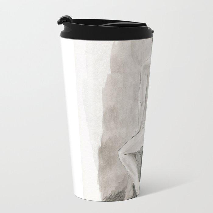 An Artist by the Window Travel Mug