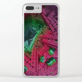 go mandelbulb -1- Clear iPhone Case