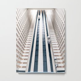 New York Marriott Marquis Metal Print
