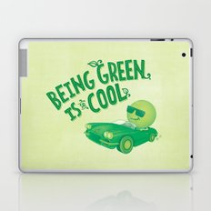 Being Green is Cool Laptop & iPad Skin