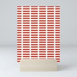 flag of austria 2 -,Österreich,Austrian,Österreicher,Vienna,Salzburg,Mozart, Schoenberg Mini Art Print