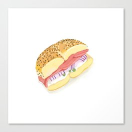 Everything Bagel Canvas Print