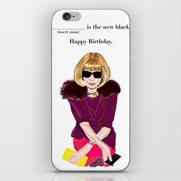 Anna Wintour iPhone Skin